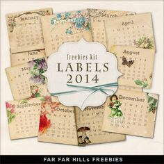Sunday's Guest Freebies ~ Far Far Hill ♥♥♥Join 2,250 people. Follow our Free Digital Scrapbook Board. New Freebies every day.♥♥♥
