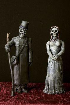 Baron Samedi (Lord of the Dead) & Maman Brigitte Baron Samedi, Different Shades Of Black, Voodoo Hoodoo, Religion, Mystique, Fantasy Makeup, Archetypes, The Conjuring, Occult