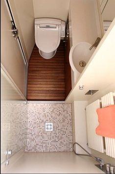Tiny House Bathroom Designs That Will Inspire You, Best Ideas ! Tiny Bathrooms, Tiny House Bathroom, Bathroom Design Small, Bathroom Layout, Bathroom Interior Design, Rv Bathroom, Bathroom Hacks, Bathroom Designs, Bathroom Storage