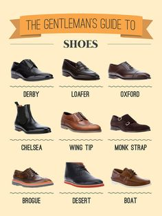 The gentleman's guide to shoes