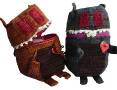 Ravelry: Cute and Cuddly Mutant Zombie Squirrel of Doom Pouch pattern by Erin Wilk