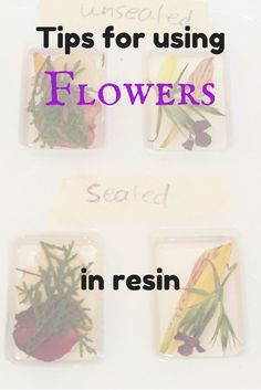 Wow.  Lots of great information for using flowers in resin.                                                                                                                                                                                 More