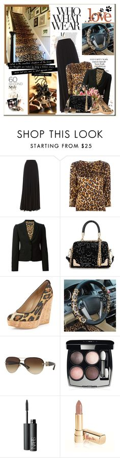 """""""Everyday Lovely♥ 2015/04/18"""" by erissa ❤ liked on Polyvore featuring Polo Ralph Lauren, Yves Saint Laurent, Dolce&Gabbana, Miss Sweety, Stuart Weitzman, Versace, Chanel, NARS Cosmetics, Anna Sui and women's clothing"""