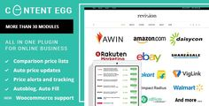 Content Egg - all in one plugin for Affiliate, Price Comparison wordpress plugin Cc License, Deal Sites, Affiliate Websites, Free News, Price Comparison, Wordpress Plugins, Way To Make Money, All In One, Products