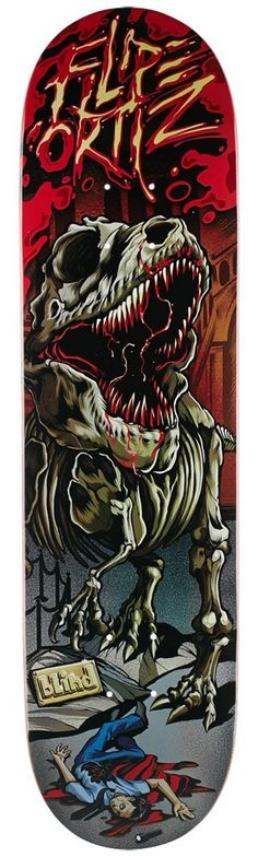 Blind Filipe T.Rex Deck