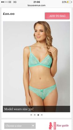 Fashion bra from boux avenue