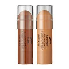 Barry M Chisel Cheeks Contour Cream Set Cheek Makeup, Skin Makeup, Beauty Makeup, Makeup Blush, Face Contouring, Contouring And Highlighting, Highlights, Cream Contour, Makeup Setting Spray