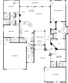 Cabin Plans | Log-cabin Style House Floor Plans with Log-cabin Home Plan Design