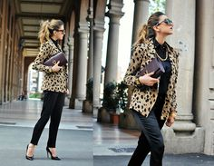 Animalier (by Nicoletta Reggio) http://lookbook.nu/look/4059830-Animalier