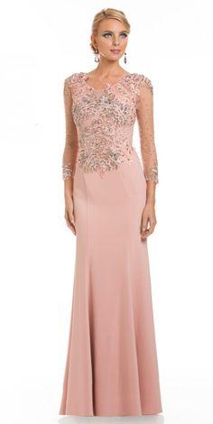 Lara Designs 32614 Pink Dress - Lara Design - 32614 -  598.00 Dresser b85073a6a60e