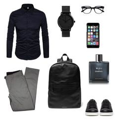 """""""Smart Office"""" by giilerme on Polyvore featuring Lords of Harlech, Undercover, Dolce&Gabbana, EyeBuyDirect.com, Chanel, men's fashion e menswear"""
