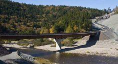 Big Salmon River, St. Martins, New Brunswick Canada