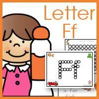 Letter F Do-A-Dot