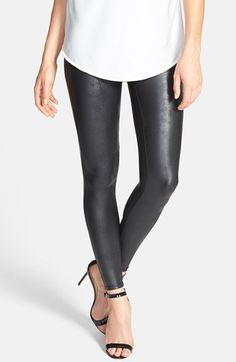 If santa brought me some Spanx faux leather leggings I'd think him extra cool.