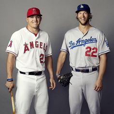 5 years ago today, the California kids took home MVP honors. Mlb Players, Baseball Players, California Kids, Angels Baseball, Mike Trout, The Big Four, Dodgers, Espn, Sports News