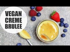5 Ingredient Vegan Crème Brûlée - UK Health Blog - Nadia's Healthy Kitchen