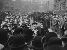 Watch St George's Day Procession in Liverpool (1901) | BFI Player Liverpool was a flourishing, prosperous city in 1901 and this display of English patriotism and civic pride was one of several events in the city captured on film that year.