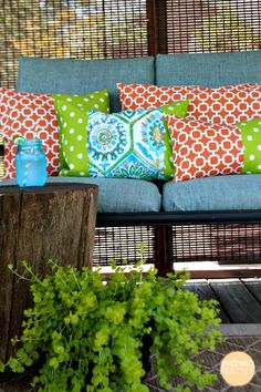 Outdoor Living - Refreshing Fabric | Refresh Restyle