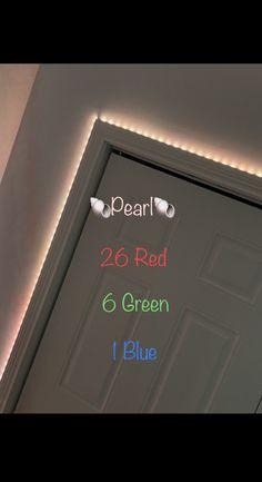 Led Room Lighting, Room Lights, Strip Lighting, Diy Room Decor For Teens, Cute Bedroom Decor, Neon Room, Cute Room Ideas, Led Diy, Aesthetic Room Decor