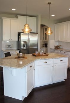 Timberlake Rushmore Painted Maple Glaze Cabinets Ryan Homes | Basement |  Pinterest | Maple Glaze, Kitchens And Granite