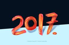 """Check out my @Behance project: """"HNY 2017"""" https://www.behance.net/gallery/46965671/HNY-2017"""