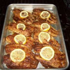 This cajun grilled tilapia is a delicious light meal for a hot summer day. Tilapia is a mild fish so the cajun seasoning and lemon pepper jazz up the flavor. Fish Dishes, Seafood Dishes, Fish And Seafood, Seafood Recipes, Cooking Recipes, Healthy Recipes, Healthy Meals, Main Dishes, Grill Recipes