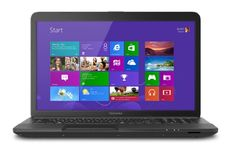 """Toshiba Satin Black 17.3"""" Satellite Laptop PC with Dual-Core Accelerated Processor, 4GB RAM, 500GB HDD, DVD/CD..."""