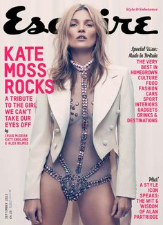 It's been 17 years since she covered a men's magazine, and this one proves Kate Moss is definitely worth the wait. Kate Moss photographed by Craig McDean for Burning Man Style, Moda Burning Man, Burning Man Mode, Burning Man Fashion, Craig Mcdean, Kate Moss, Looks Street Style, Looks Style, My Style