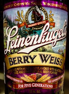 Leinenkugel's Berry Weiss Wheat Beer - Chippewa Falls, WI | Flickr - Photo Sharing!