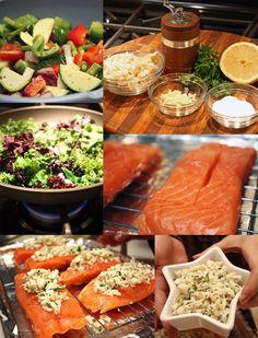 Crab Stuffed Salmon - Primal Palate | Paleo Recipes                                                                                                                                                                                 More