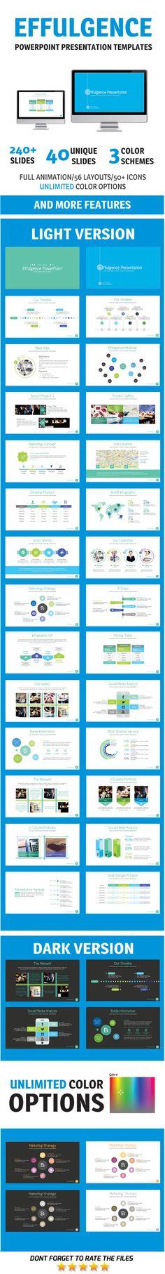 Effulgence PowerPoint Template #slides #presentation Download: http://graphicriver.net/item/effulgence-powerpoint-template/11120046?ref=ksioks