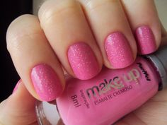 Posh pink nails