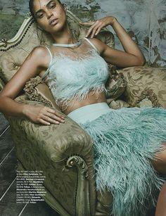 Colombina Gotica (Vogue Brasil)Zee Nunes - Photographer Daniel Ueda - Fashion Editor/Stylist Mariana Santana - Model