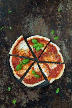 Recept: Pizza Margherita | Frk. Kräsen