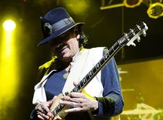 Carlos Santana in USA Today