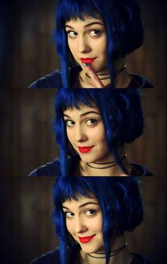 Ramona Flowers | Scott Pilgrim vs The World | Blue Hair | Mary Elizabeth Winstead