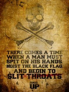 Hoist the Black Flag Poster