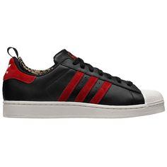 Chaussure Pas Cher, Homme Noir, Hommes, Rouge, Blanc, Adidas Superstar, a61008782fe