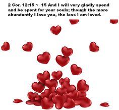 2 Cor. 12:15