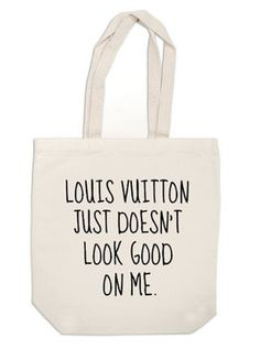 Louis Vuitton Just Doesn't Look Good On Me