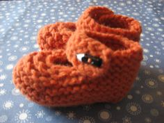 Your place to buy and sell all things handmade Black Button, Baby Booties, Knits, Booty, Orange, Knitting, Trending Outfits, Unique Jewelry, Handmade Gifts