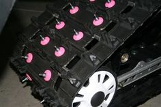Need these! Round Pink Nylon Stud Backers by Divas Snow Gear only $12.99!