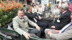 Gärtnerjahrtag 2014 am 05.08.2014 - der Umzug durch die Münchner Innenstadt