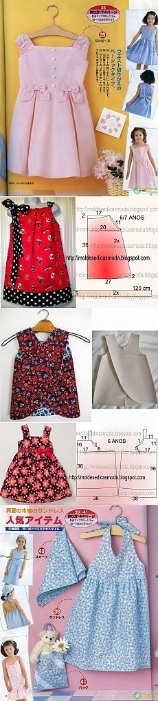 How to make different type of Baby Sewing Projects, Sewing Patterns For Kids, Clothing Patterns, Outfits Niños, Kids Outfits, Little Girl Fashion, Kids Fashion, Moda Kids, Sewing Kids Clothes