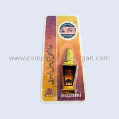 Kohl para ojos Hashmi Aswad en polvo con aplicador