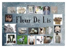 """Fleur De Lis: Elegant Etsy Finds"" by paulinemcewen ❤ liked on Polyvore"