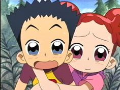 Kotake dijo ese niño es un poco raro Doremi dijo kotake no le haga daño a Mariano posada