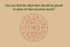 This Saturday brings a tricky puzzle. Come on solve this quickly.