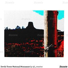 Devils Tower National Monument Jigsaw Puzzle