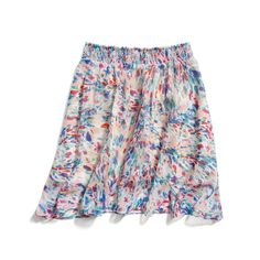Stitch Fix Spring Must-Haves: Pastel Printed Skirt